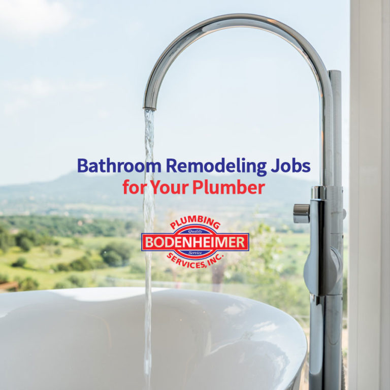 Bathroom Remodeling Jobs for Your Plumber