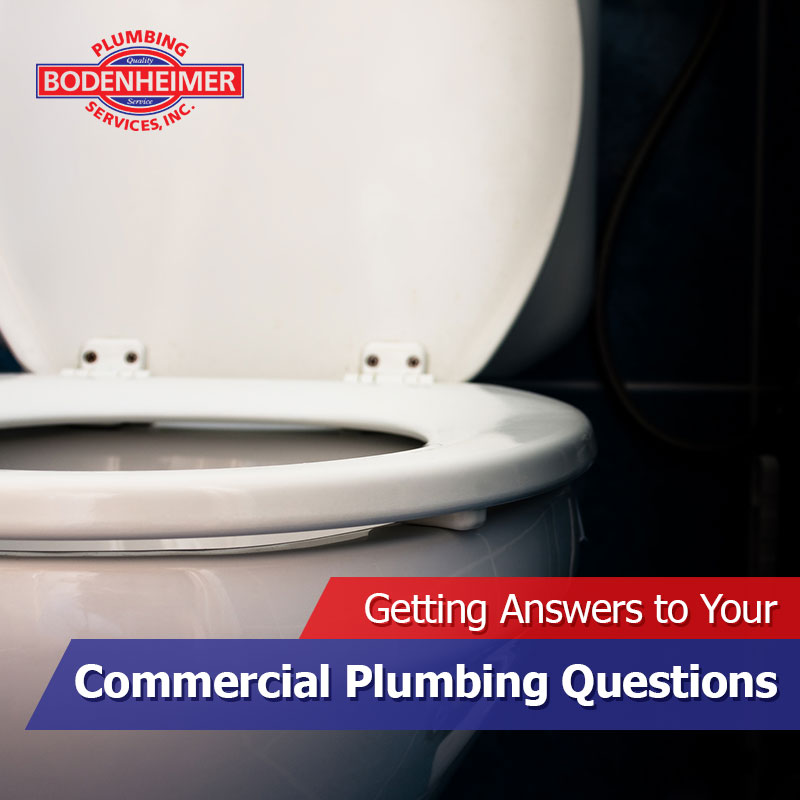 Getting Answers to Your Commercial Plumbing Questions