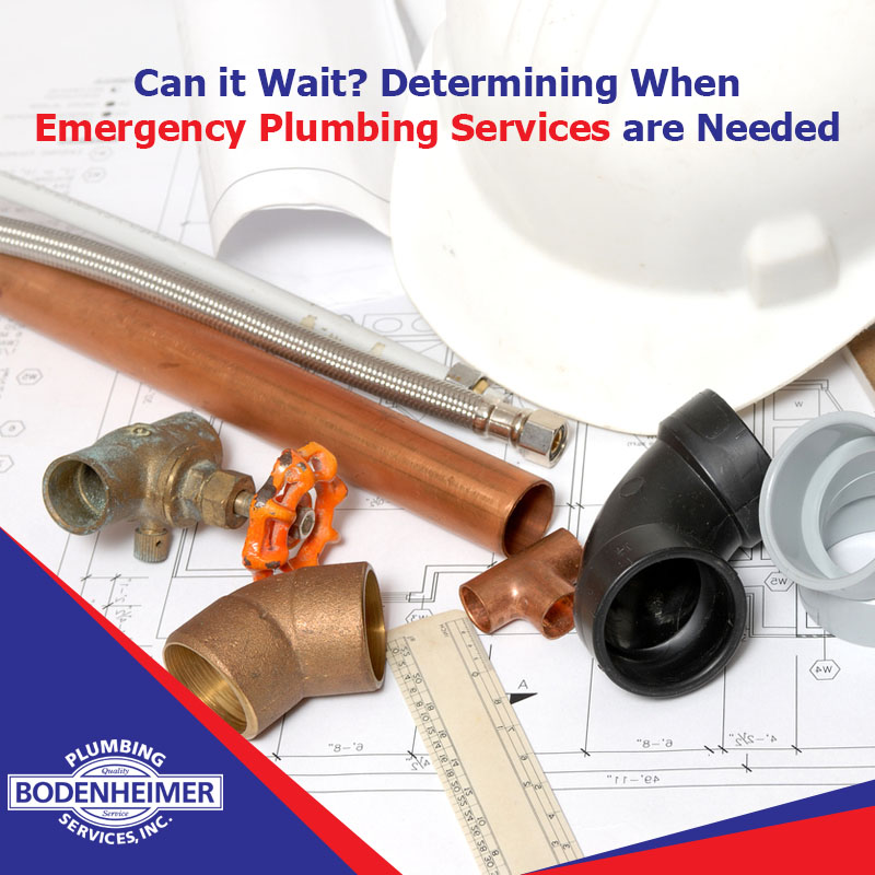 Can it Wait? Determining When Emergency Plumbing Services are Needed