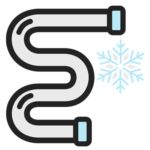 Frozen Pipe Icon